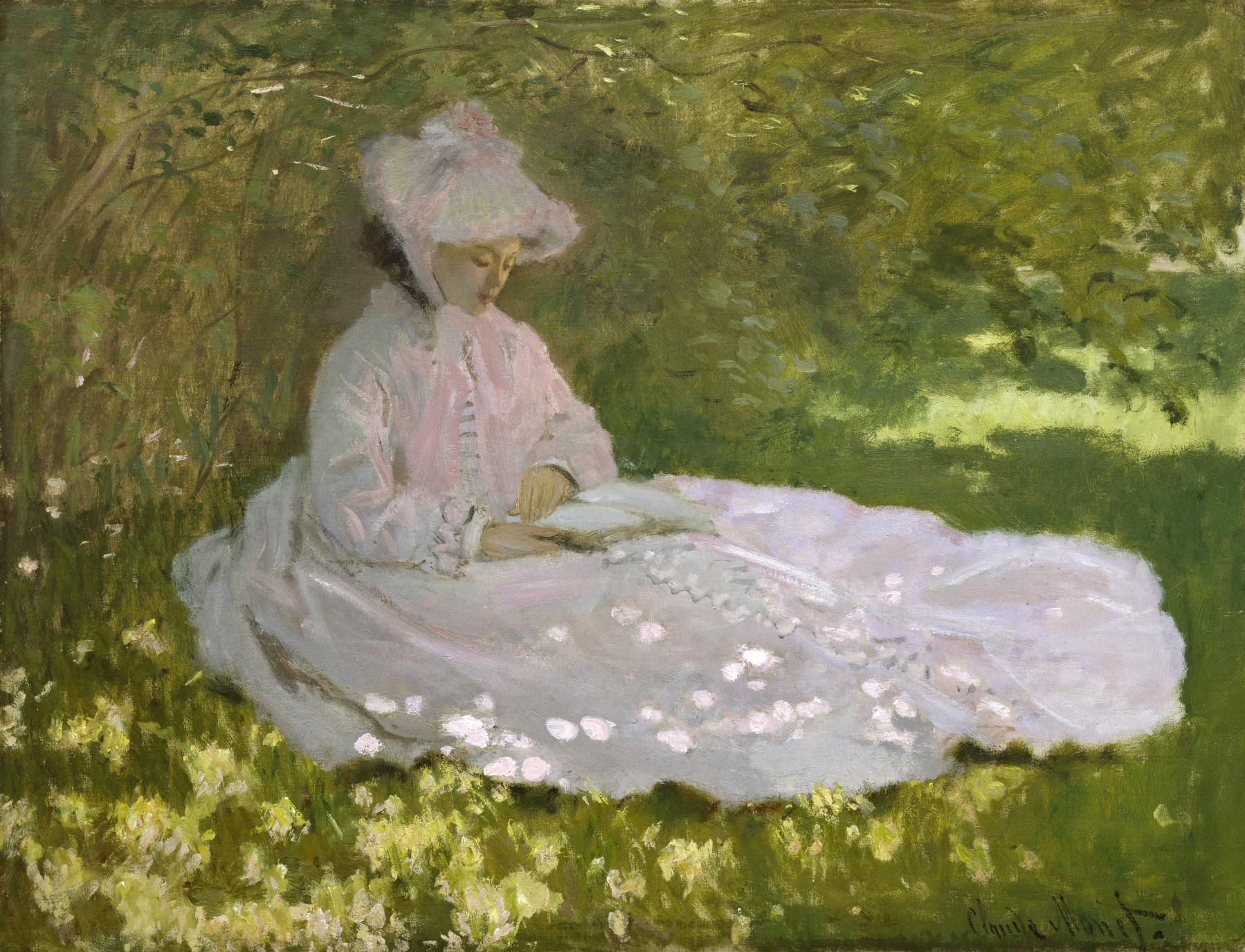 Monet, Claude. Springtime. Walters Art Museum.1872. Oil on canvas..jpg