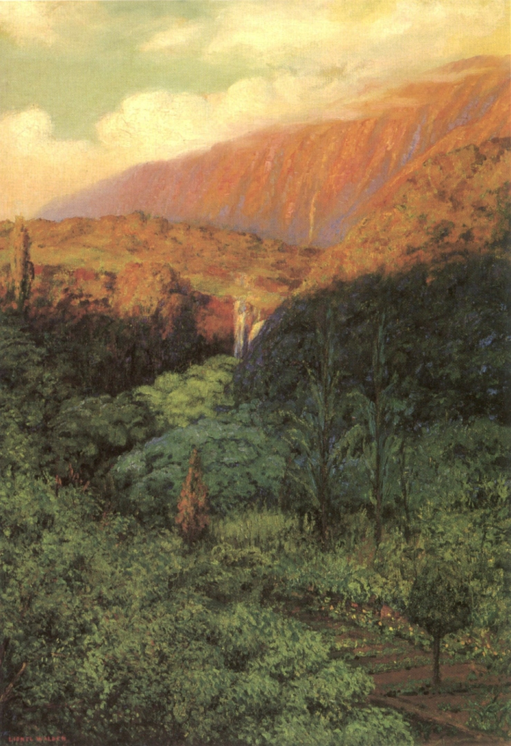 Walden, Lionel. Luakaha. Honolulu, HI. Honolulu Museum of Art, 1916. Oil on canvas..jpg