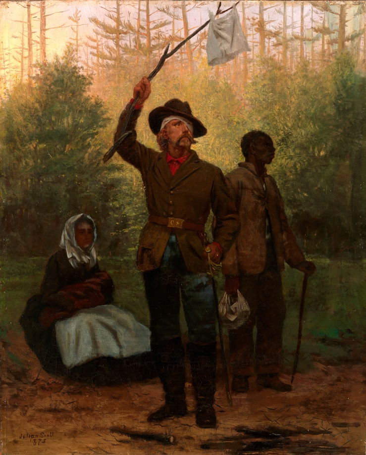 Scott, Julian. Surrender of a Confederate Soldier. 1873. Oil on canvas..jpg