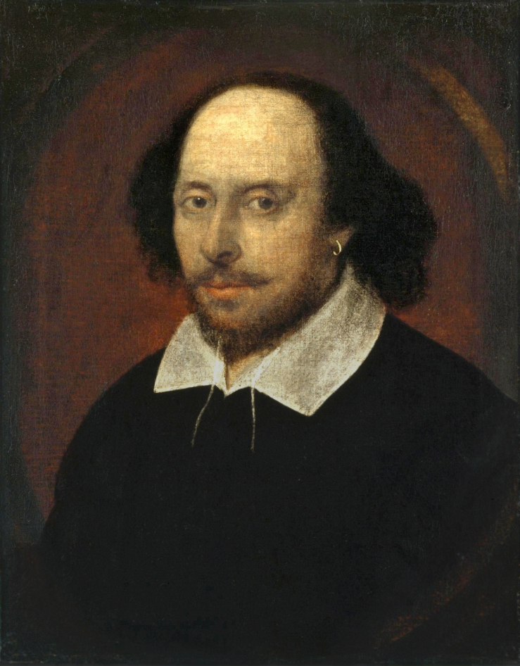 Unknown. Shakespeare. 1610. Oil on canvas..jpg