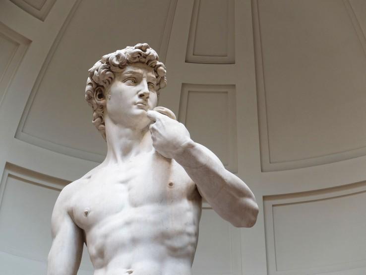 Michelangelo David, 1501-1504