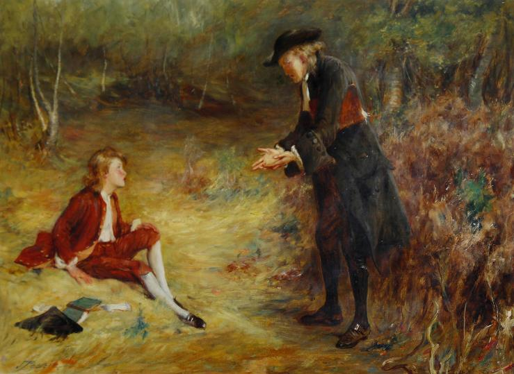 Pettie, John. A Roadside Sermon. 1893. Oil on canvas..jpg