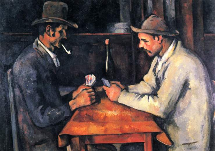 Cézanne, Paul. The Card Players. Paris, France. Musée d'Orsay, 1895. Oil on canvas..jpg