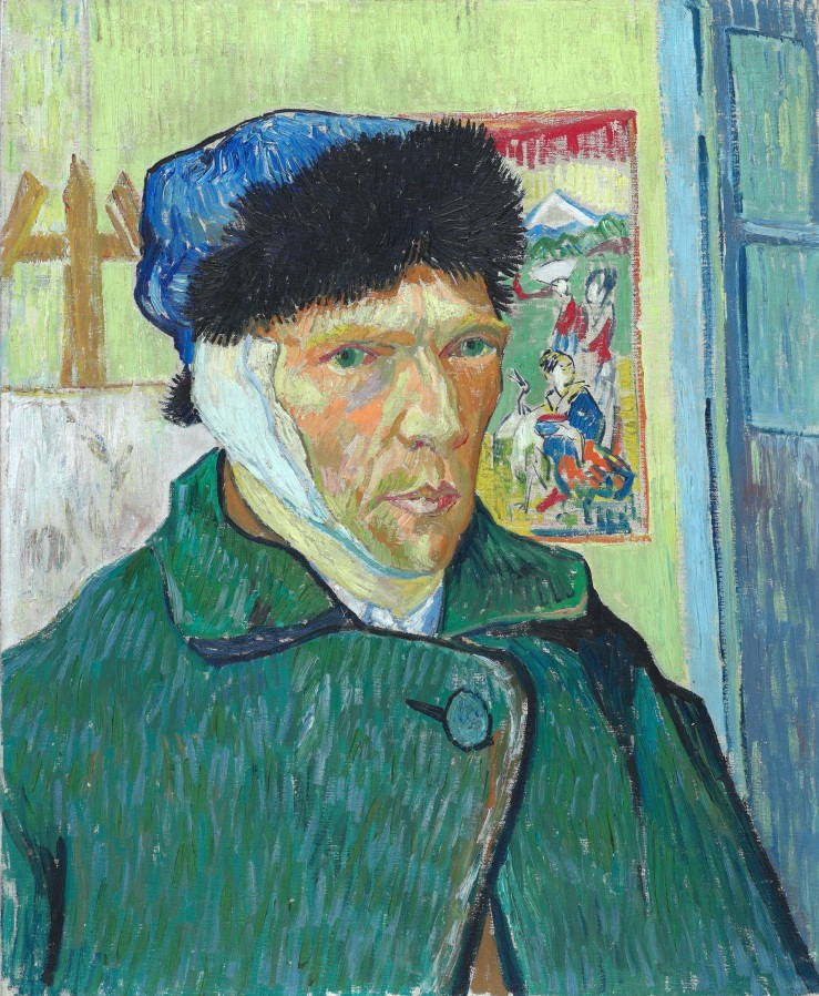 Van Gogh, Vincent. Self-Portrait with Bandaged Ear. Courtauld Institute of Art, 1889. Oil on canvas..jpg