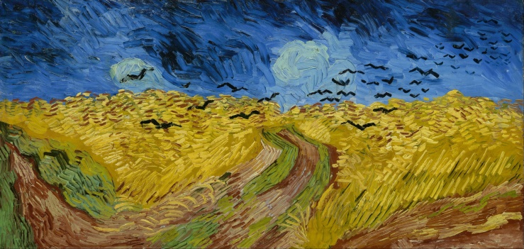 Van Gogh, Vincent. Wheatfield with Crows. Amsterdam, Netherlands. Van Gogh Museum, 1890. Oil on canvas..jpg