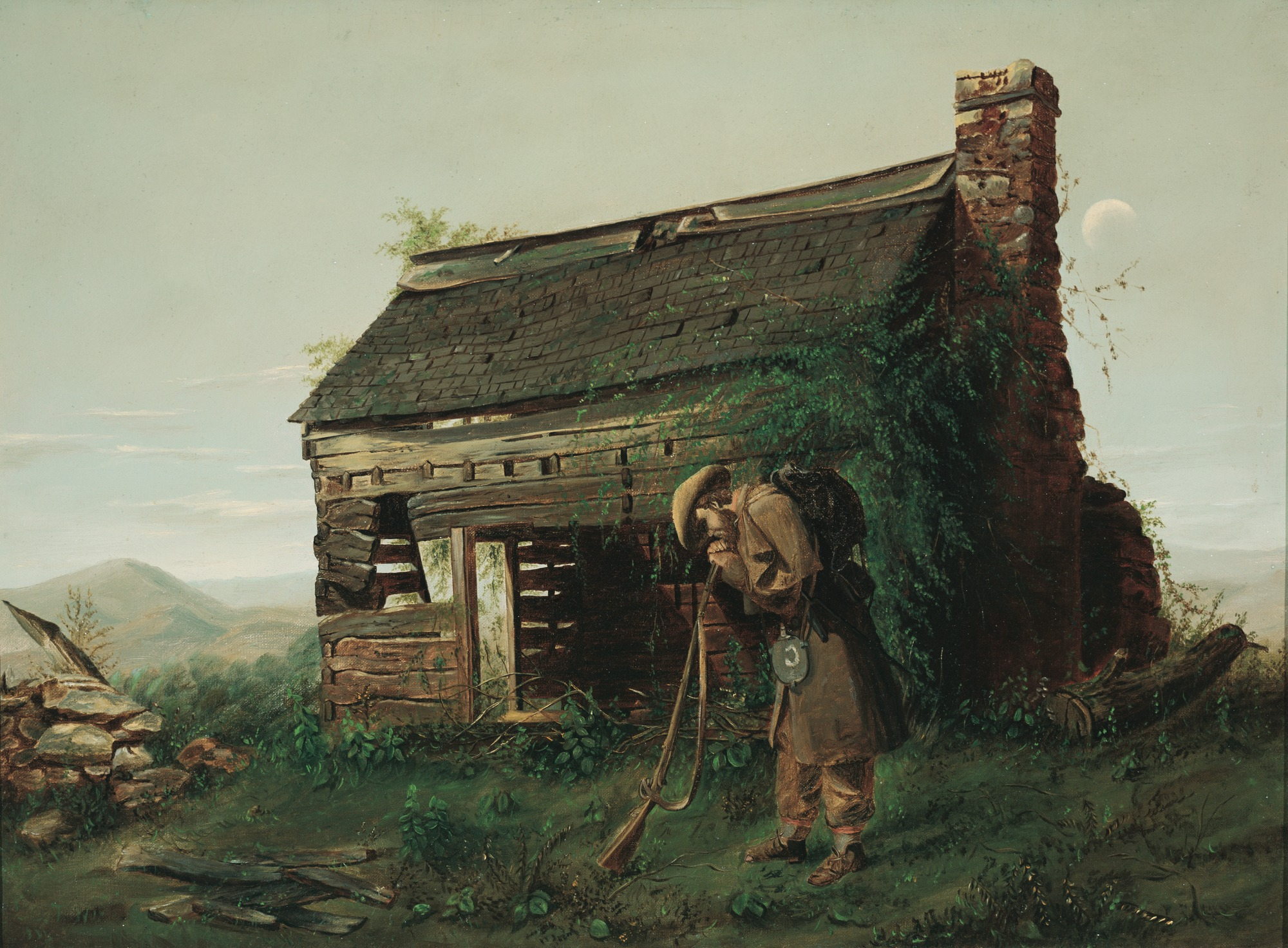Mosler, Henry. The Lost Cause. Augusta, GA. Morris Museum of Art, 1869. Oil on canvas..jpg