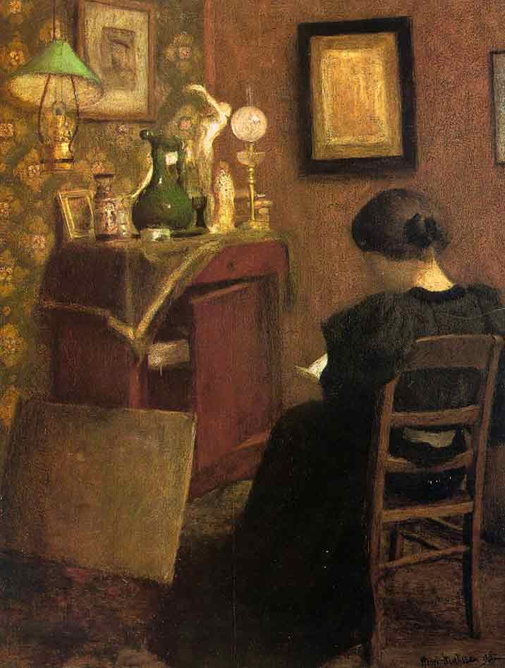 Matisse, Henri. Woman Reading. 1894. Oil on canvas.