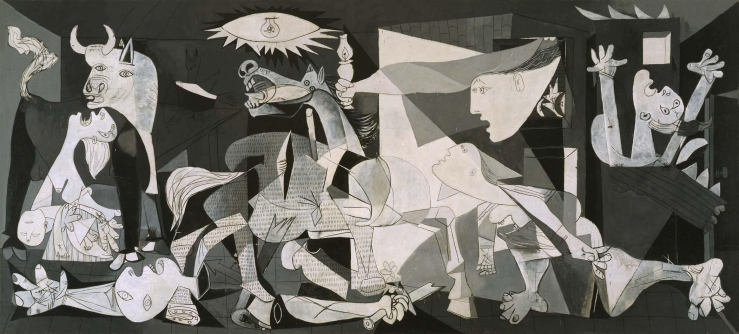 Picasso, Pablo. Guernica. 1937. Oil on canvas..jpg