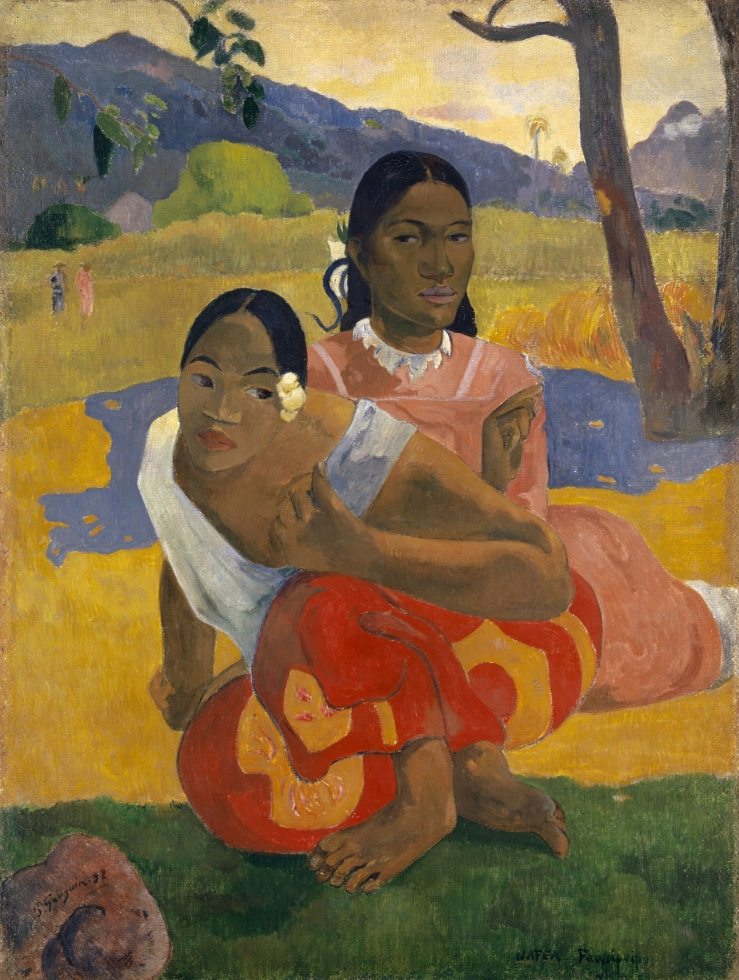Gauguin, Paul. When Will You Marry? 1892. Oil on canvas..jpg